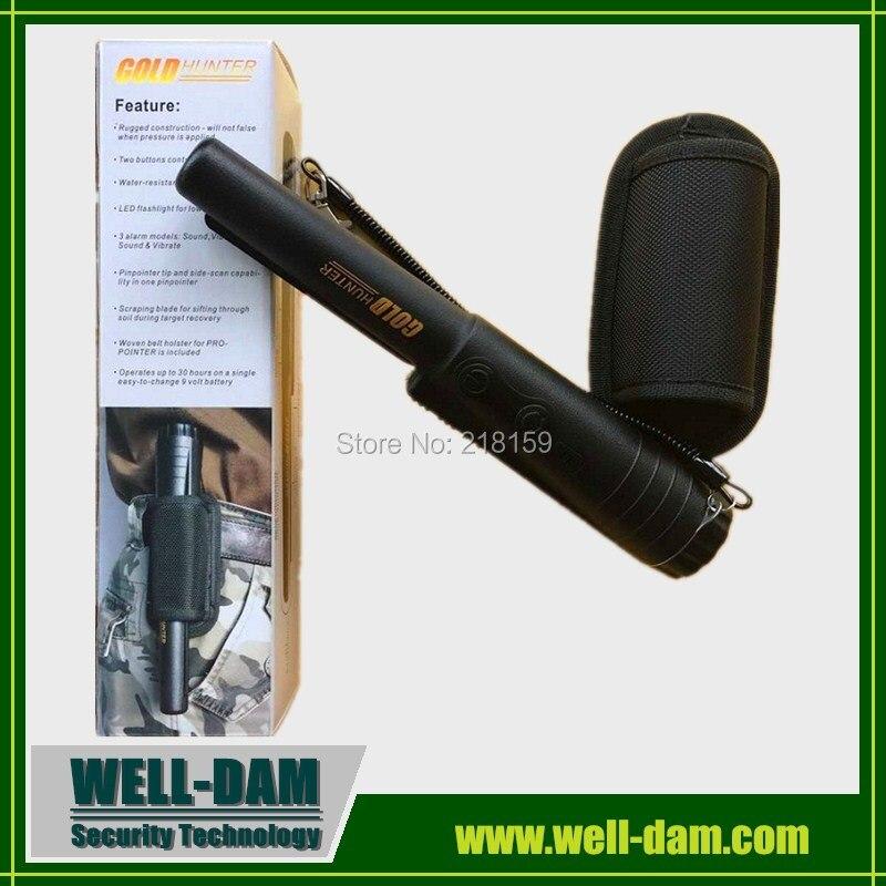 Portable Handheld Metal Detector Gold Finder GOLD HUNTER handheld portable metal detector handheld scanner handheld pro pointer for security screening