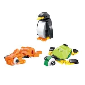 Image 2 - Enlighten 2901 460 шт оптом DIY креативные строительные блоки кирпичи развивающие игрушки для детей подарок Рождество juguetes