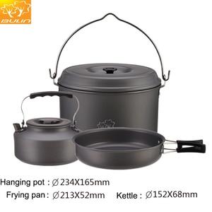 Image 4 - طقم أدوات طهي للتخييم 12 شخص طقم طهي للتنزه في الخارج وعاء للتنزه BL200 C10
