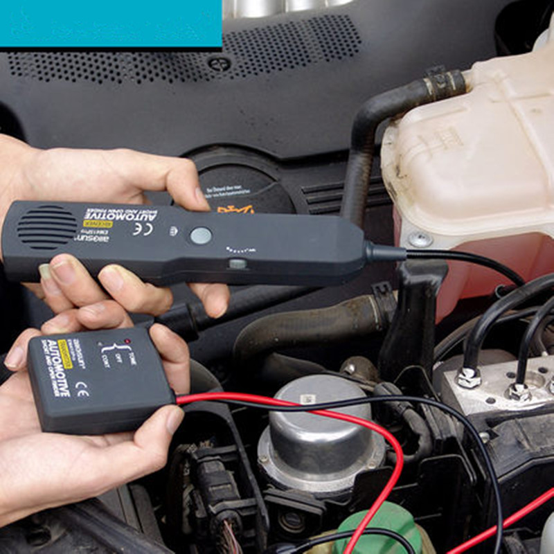 Universel automobile câble fil Tracker court et ouvert Circuit Finder testeur voiture véhicule réparation tonalité traceur 6-42 V DC outil EM415PRO