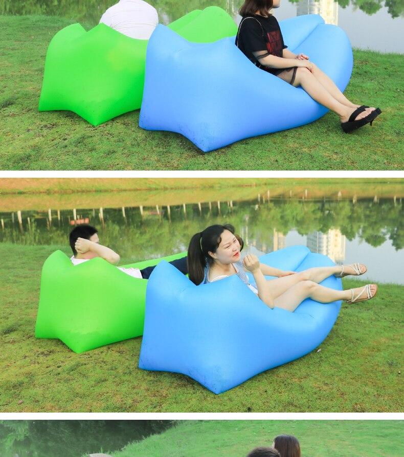 ar sofá espreguiçadeira de boa qualidade cadeira saco de dormir laybag