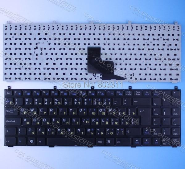 Russian Black Laptop Keyboard for Casper W765S DNS 0123975 CLEVO PHILCO 15A SIM2000 RU laptop keyboard