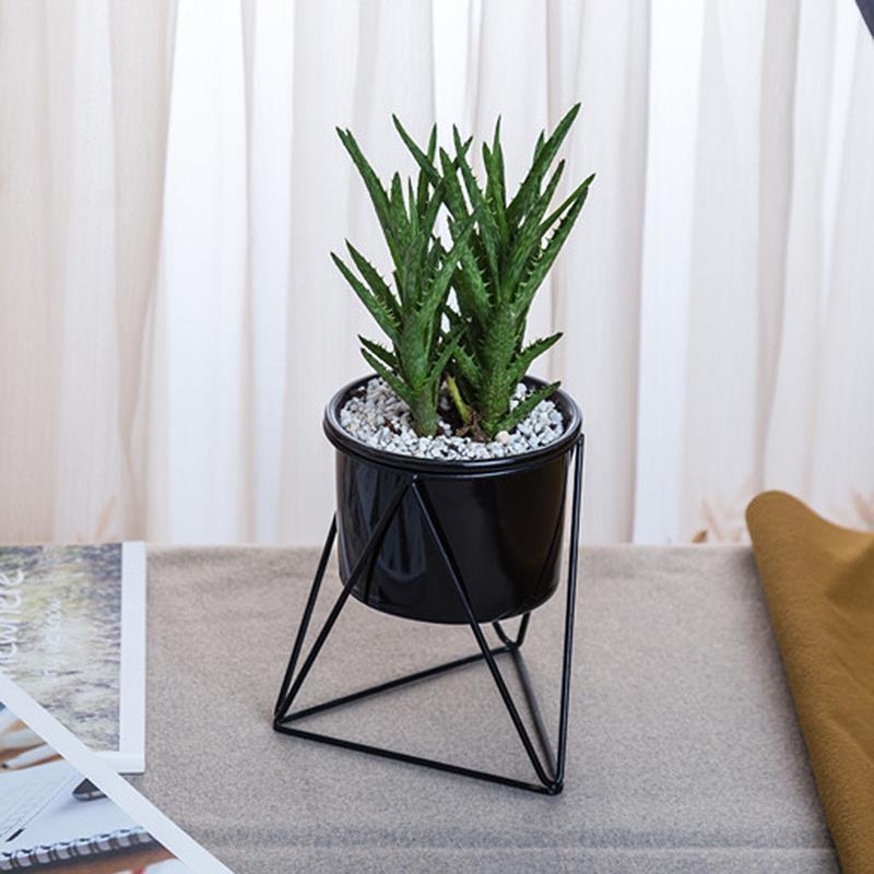 Desktop Planter Vaas Geometrische Container Geweldig Voor Succulenten Air Plant Mini Cactus Faux Planten Delicious In Taste