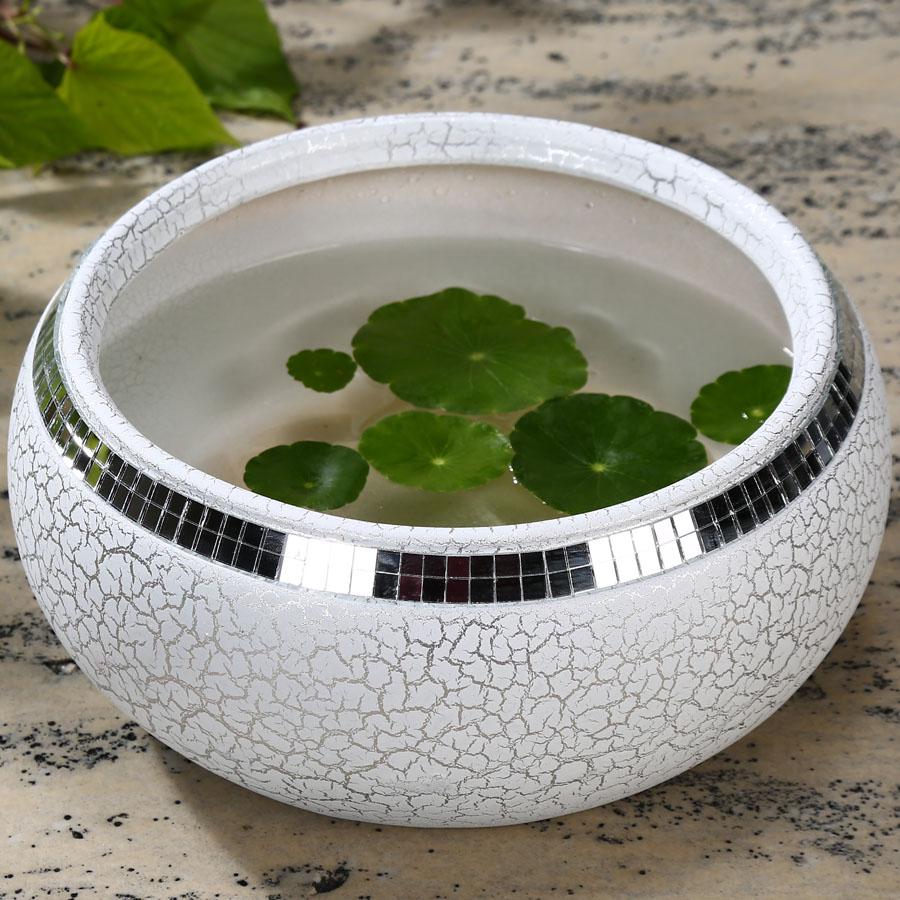 17X11CM Ceramics Flower Pot No Porcelain Basin Copper Green Grass Lavender Water Hydroponic Plant Pots Pottery & 17X11CM Ceramics Flower Pot No Porcelain Basin Copper Green Grass ...