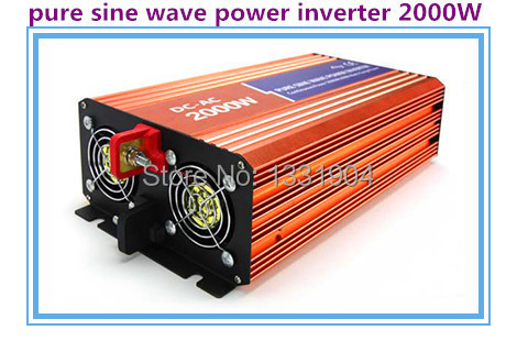 цена на High quality 2000W Pure sine wave inverter 110/220V AC 12/24VDC, PV Solar Inverter, Power inverter, Car Inverter Converter