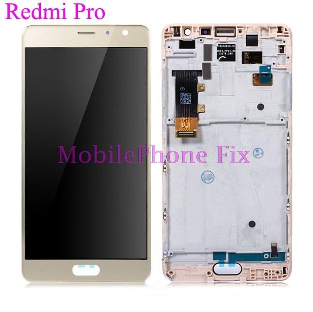 Testato Display LCD Con Touch Screen Digitizer Assembly Per Xiaomi Redmi Pro 5.5 ''1920x1080 pezzi di Ricambio