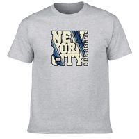 Men S Most Popular Item DIY T Shirt Custom New York City Brooklyn Crew Neck Cotton