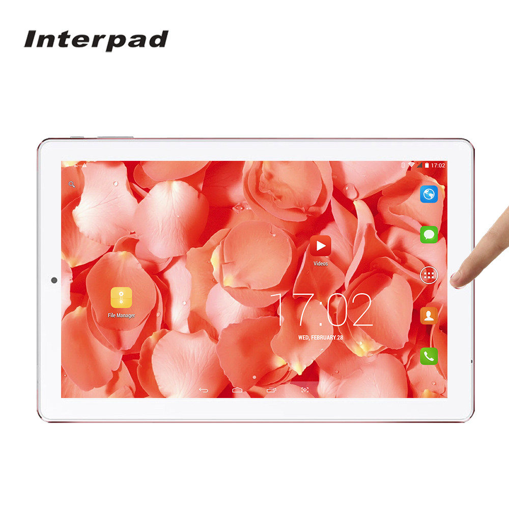 Interpad 10 inch Android tablets Phone call Quad Core MTK6582 IPS 1920*1200 wifi GPS Bluetooth 3G Advanced Business tablet pc8 9 marc by marc jacobs