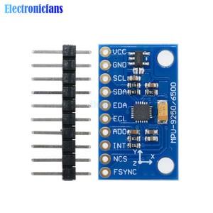 Image 1 - 1Set SPI IIC/I2C GY 9250 MPU 9250 MPU 9250 9 Axis Attitude +Gyro+Accelerator+Magnetometer Sensor Board Module MPU9250 3 5V Power