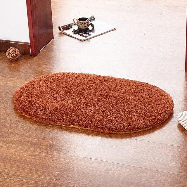 Hot Sale New Design Lambskin Bedroom Oval Carpet Living Room Kitchen  Non Slip Mats Bathroom Part 81