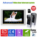 Homefong 10 Inch Video Door phone Intercom System 2 Doorbell Camera  with 32GB SD Card 1200TVL