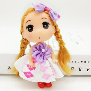 12cm cute doll keyring hanging