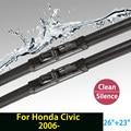 """Щетка стеклоочистителя для Honda Civic (с 2006 г.) 26 """"+ 23"""" стандартных J крюк стеклоочистителей оружие только HY-029"""