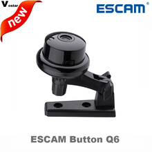 Escam Button Q6 1MP Wireless Camera ONVIF 2.4.2 Support Mobile View Motion Detector And Email Alarm Cctv Mini IP Camera