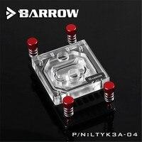 Barrow Dacentrurus For AM4 Transparent Acrylic CPU Cold Head For AMD Full Platform