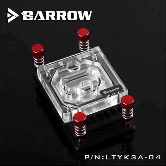 Barrow Dacentrurus For AM4 transparent acrylic CPU cold head For AMD Full Platform