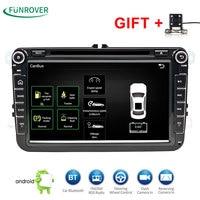 2 DIn Lettore DVD 'HD Per Il VW POLO GTI GOLF 5 6 MK5 MK6 JETTA PASSAT B6 Touran Sharan Con Il GPS Navigation Radio RDS