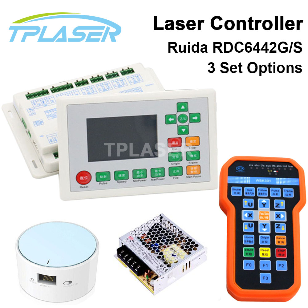 Ruida RDC6442G DSP Laser Controller PSU WIFI Handle for Co2 Laser Engraving Cutting Machine total station topcon bt 65q bt 61q battery can replace the battery quality assurance