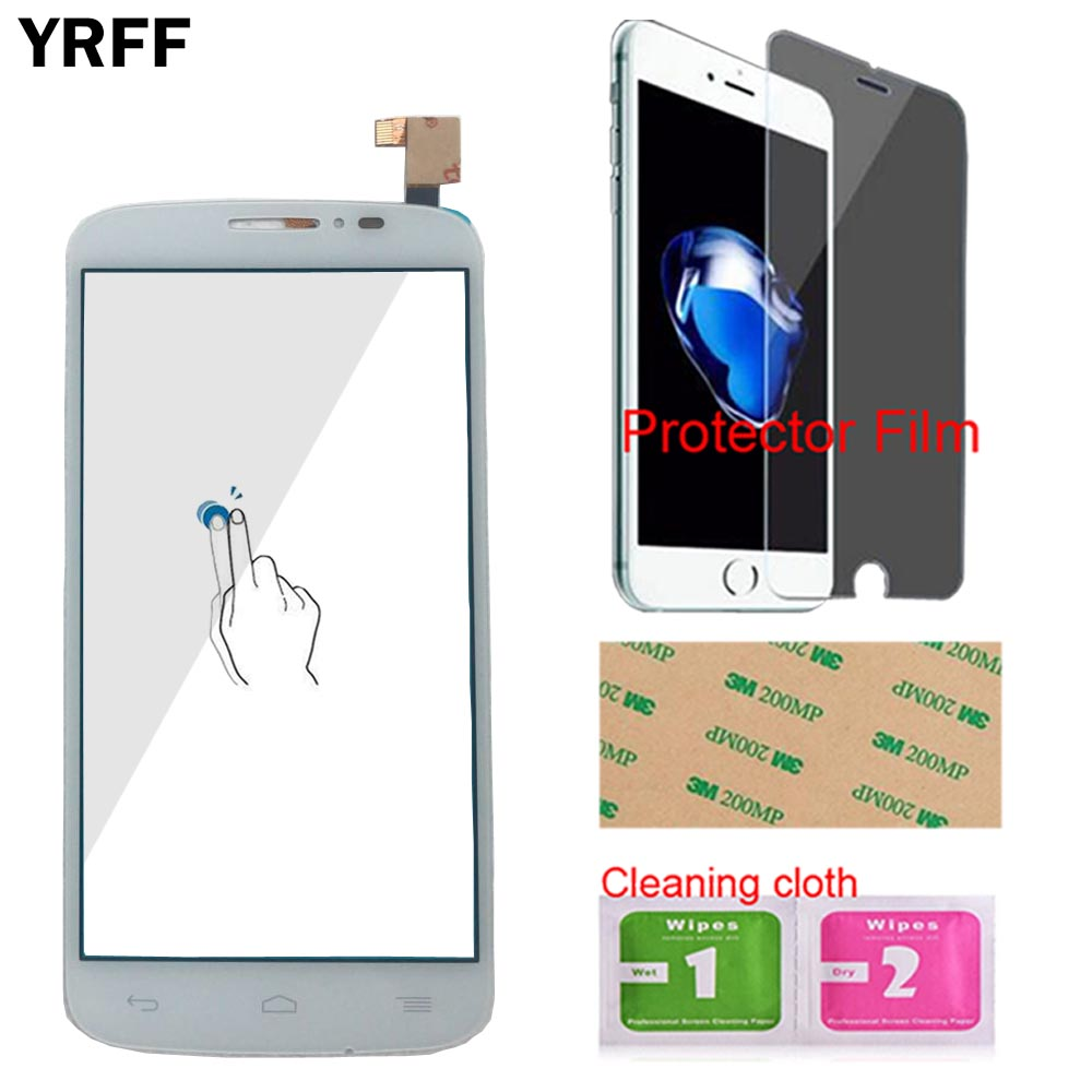 Image 2 - Touch Screen Panel For Alcatel One Touch Pop C7 7041 OT 7041D 7041X OT7040D 7040E 7041D Touch Screen Digitizer Protector Film-in Mobile Phone Touch Panel from Cellphones & Telecommunications