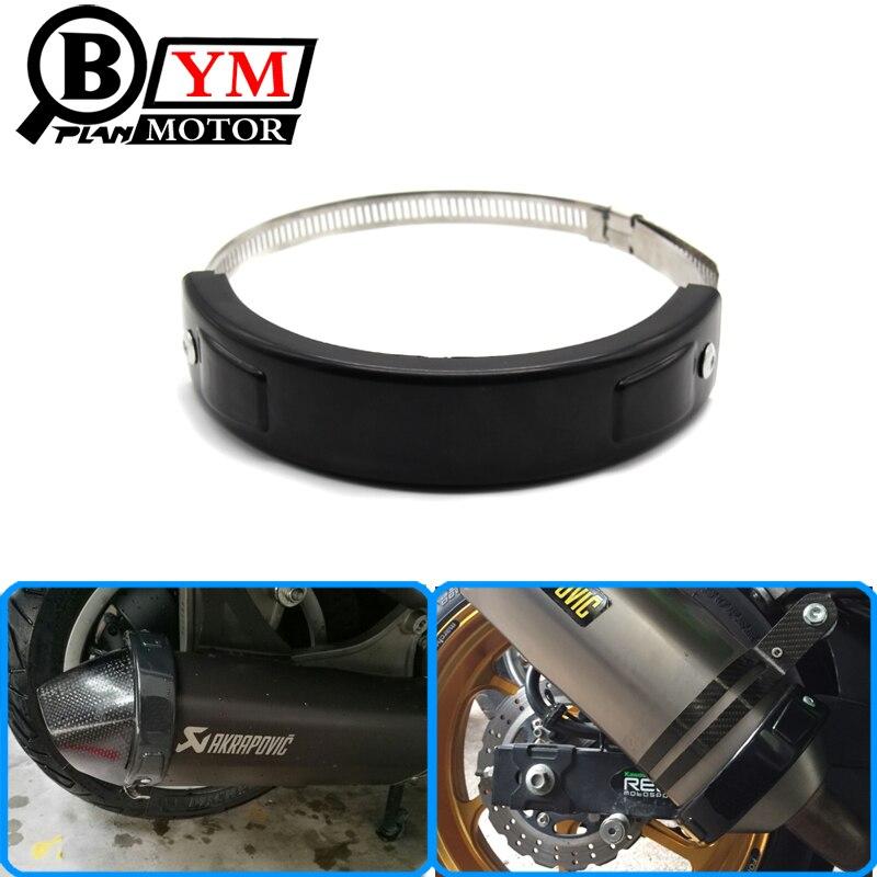 Accessori per motocicli Protezione per marmitte di scarico ovali - Accessori e parti per motocicli