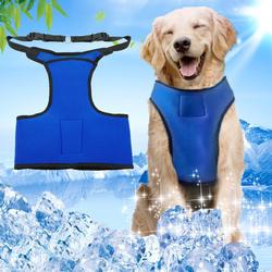 Собака Жгут охлаждения продуктов для маленький большой собаки подвесные поводок воротники Лето собак проводки Регулируемый Собачий