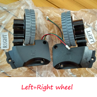 Original Left Right Wheel For Robot Vacuum Cleaner Ilife A4 A4s Robot Vacuum Cleaner Parts Ilife