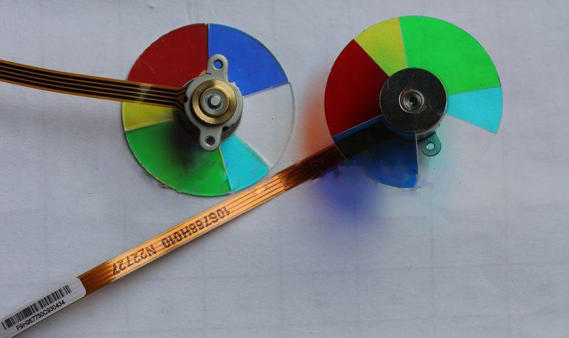 купить New For Viewsonic VS13868 VS12618 VS12476 VS13869 DLP Projector Color Wheel дешево