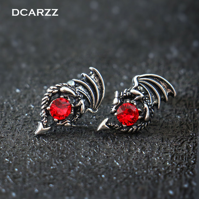 US $3.2 |Game of Thrones Earrings the Crystals Dragon Stud Earrings for  Woman Daenerys Targaryen Cosplay TV/Movie Jewelry Drop Shipping-in Stud ...