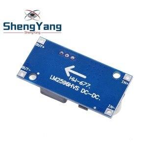 Image 3 - 1 шт. LM2596HVS LM2596 HV LM2596HV DC DC Регулируемый понижающий преобразователь модуль питания 4,5 50 в до 3 35 в ограничение срока эксплуатации