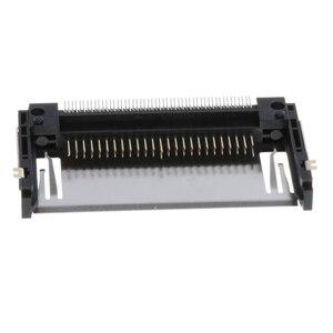 Image 4 - 2 Pcs Durable 50pin CF Karte Speicher Teil Stecker Adapter Reverse Deck CF Karte Speicher Teil Stecker für PCB 3C numerische code
