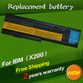 JIGU 6 ячеек Аккумулятор Для Ноутбука Lenovo ThinkPad X200 X200s 42T4834 42T4835 43R9254 ASM 42T4537 FRU 42T4536 42T4538