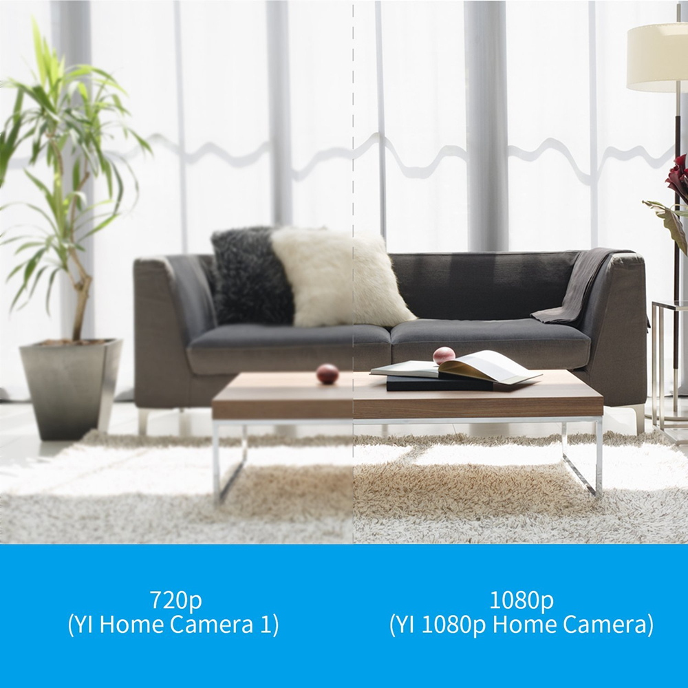 Details about International Edition Xiaomi YI Home Mic Wifi Camera Night  Vision Wireless 1080P