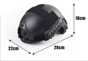 Image 5 - Capa tática militar de qualidade para capacete airsoft, cobertura rápida para capacete de paintball, acessórios esportivos, proteção para saltos rápidos