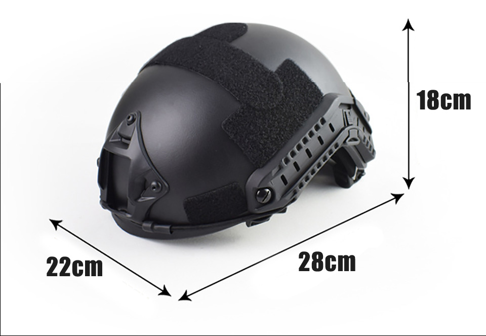 Image 5 - Quality Military Tactical Helmet Fast PJ Cover Casco Airsoft Helmet Sports Accessories Paintball Fast Jumping ProtectiveHelmets   -