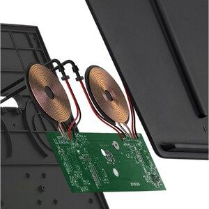 Image 4 - עבור טסלה דגם 3 Y נייד טלפון אלחוטי טעינת Pad Dock אביזרי מרכז קונסולת מטען שימוש מצית עבור iPhone
