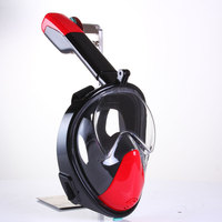 Underwater Diving Mask Scuba Anti Fog Full Face Diving Mask Snorkeling Set With Anti Skid Ring