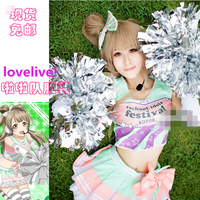 Anime Cosplay Costume Love Live! Paradise Live cheering squad Kotori Minami Dress Cheerleading Costumes Cute and Sexy Dress Z