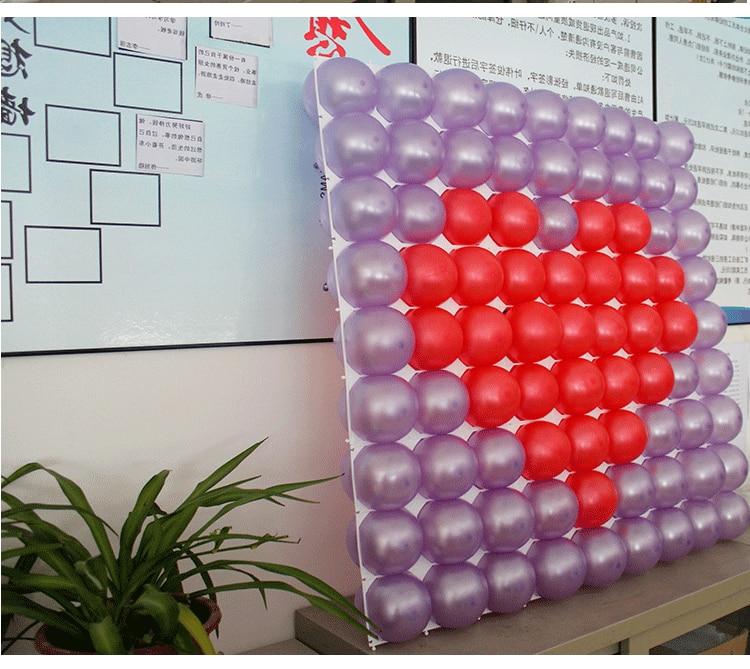 30pcs Balonska mreža Poročni Balon Stenski okraski Grid Party - Prazniki in zabave - Fotografija 6