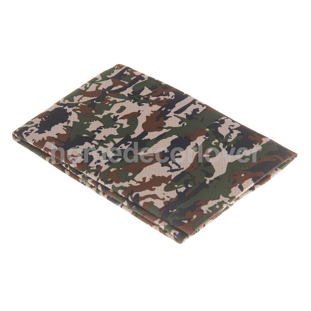 Sweat Towels Sign: UPF 50+ Sun Protection Camouflage 31*100cm Sports Instant