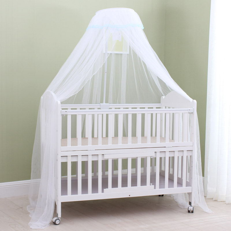 Baby Crib Netting Canopy Bed Mosquito Net Breathable Insect Net Canopy Round Dome Mosquito Netting with ... & Detail Feedback Questions about Baby Crib Netting Canopy Bed ...