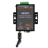 1pcs/pack 2211 Industrial Modbus Serial RS232 RS485 RS422 to WiFi Ethernet Converter Device Modbus 4M Flash Connector