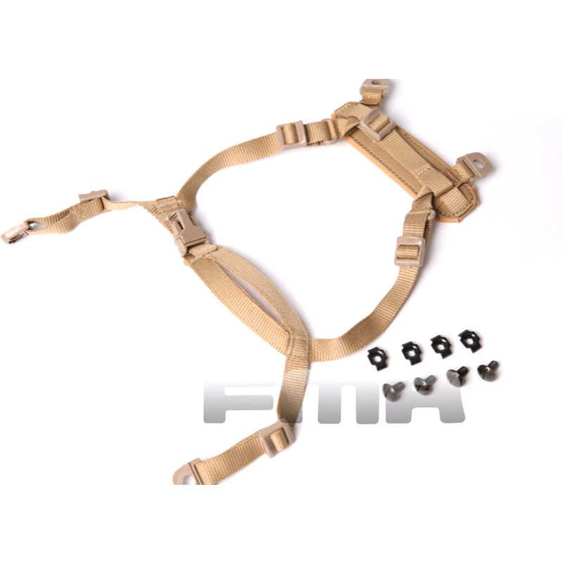FMA Tactical Helmet Retention Suspension System H-Nape Strap for MICH ACH Helmet