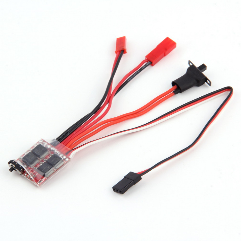 2019New Sale <font><b>30A</b></font> 4-8V Mini <font><b>Brushed</b></font> Electric Speed Controller <font><b>ESC</b></font> Brush Electronic Motor Speed Controller For RC Car image