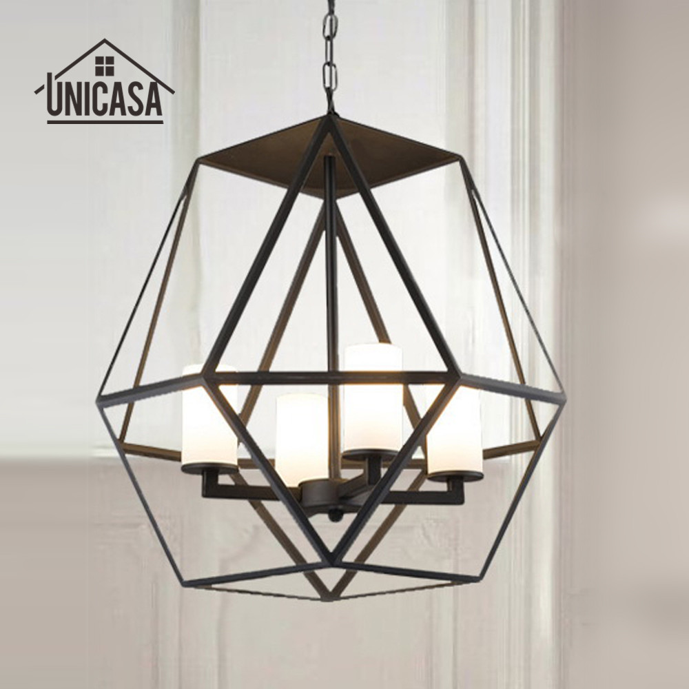 Black Pendant Light Vintage Industrial Lighting Living Room Lamps Hotel Kitchen LED Lights Porch Antique Pendant Ceiling Lamp loft style metal cage ceiling lights hotel corridor creative ceiling lamps restaurant aisle balcony kitchen for home lighting