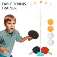 Table Tennis Robot Automatic Ping Pong Robot Training Machine with Different Spin Balls for Training