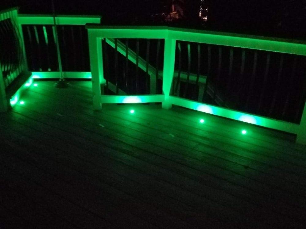 Pack of 14 rgbw rgb & warm white terrace led deck lighting kit