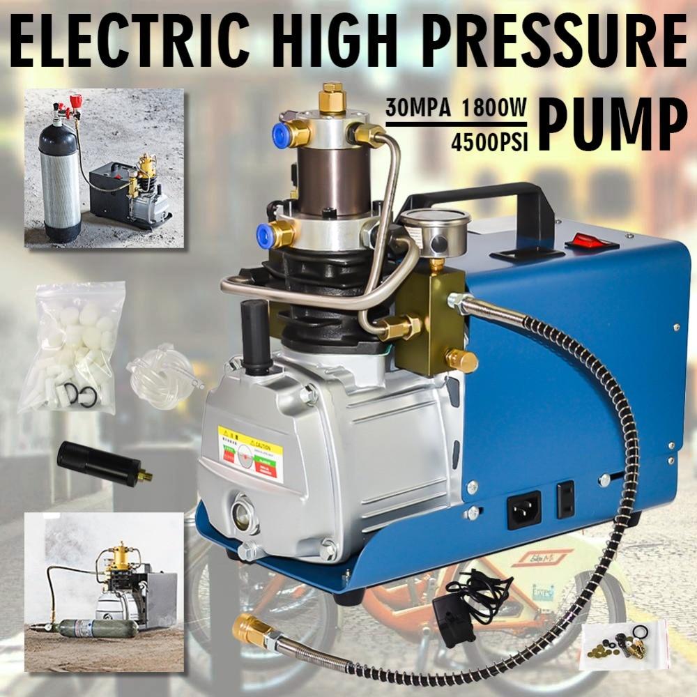 YONG HENG Electric Auto Shut 4500PSI High Pressure 30MPa Air Compressor Pump PCP