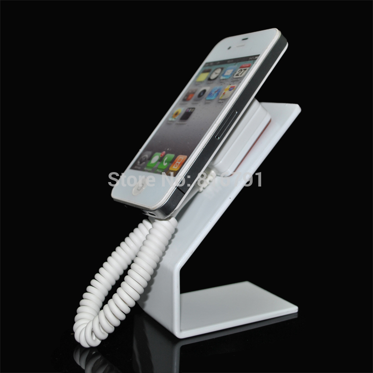 Steal Cell phone Anti-theft Display Stand Mobile Support Holder for retail or exhibition wholesale price mobile phone anti theft alarm display stand with charging for exhibition