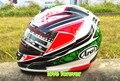 Новые прибытия шлем Arai R3 ДУХАН Мотоцикл шлем Выполнения шлем Гонки шлем Полной стороны согреться снять подкладка