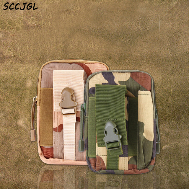 Bolsa de Cintura telefone + Zipper Universal Coldre Tático Ao Ar Livre Militar Saco Da Cintura Quadril Móvel Caso Carteira Bolsa Bolsa Camo 5.5 polegada